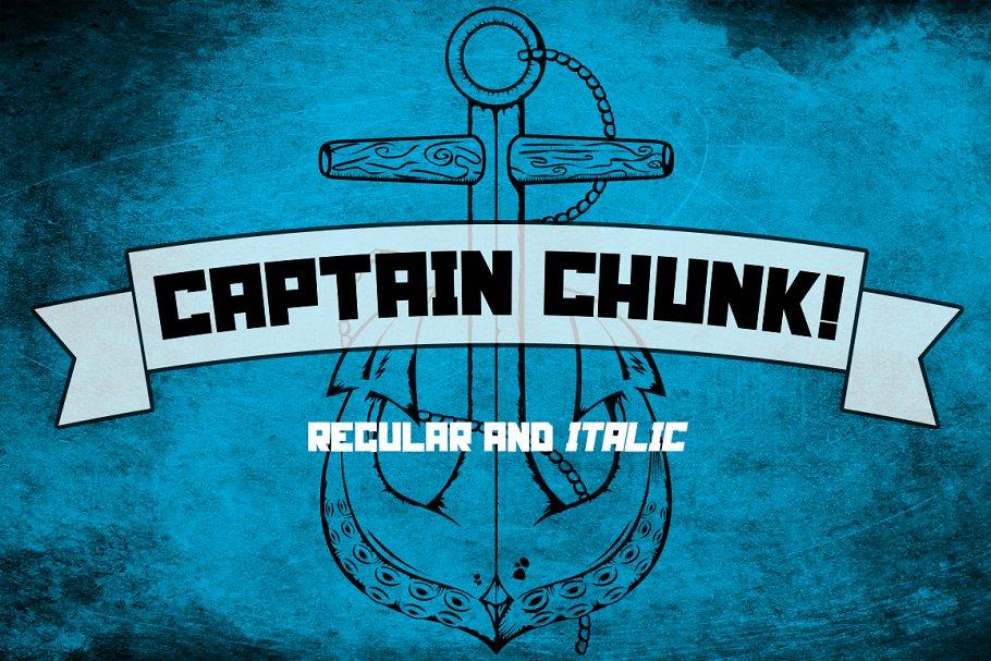 Captain Chunk!