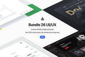 Bundle 26 User Interfaces - PSD