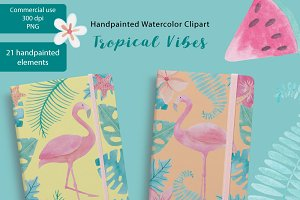Tropical Watercolor Vibes