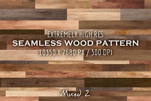 Extremely HR seamless wood pattern K
