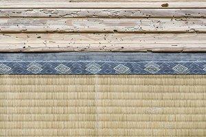Tatami Mat, and wood doorstep