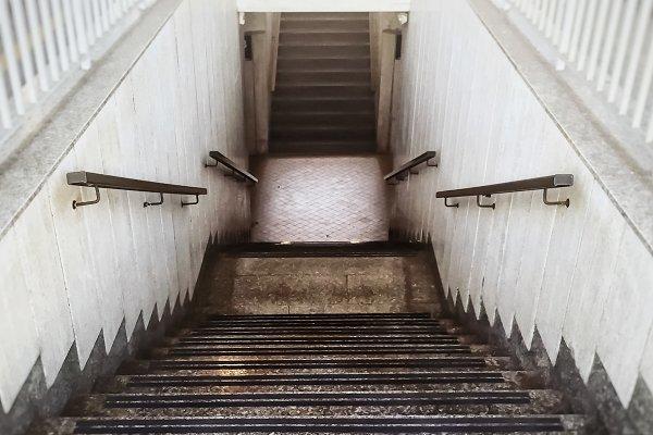 Architecture Stock Photos: rarrarorro - perspective view of a staircase