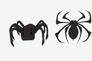 Spider Logo Emblem