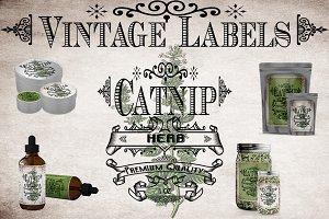 Catnip Vintage Labels