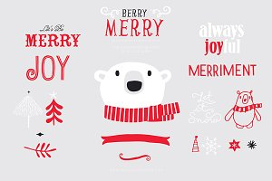 Berry Merry (Clipart)