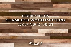Extremely HR seamless wood pattern J