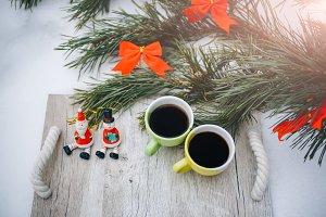 Happy holidays, Christmas decoration