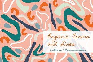 Organic Forms | Patterns + ArtBoards