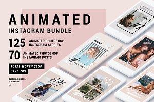 Ultimate ANIMATED Instagram Bundle