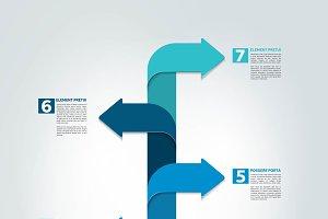 Timeline vertical report