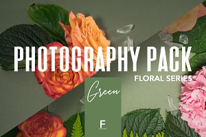 Floral Photography Pack / Green
