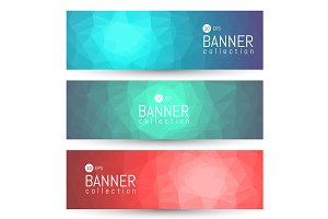 Site Banner Collection. Headers Set.
