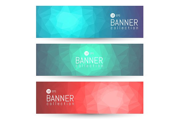 Site Banner Collection. Headers Set. - Illustrations