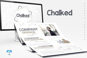 Chalked - Keynote Templates