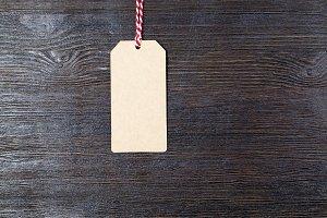 a paper tag