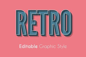 Retro Graphic Style for Illustrator