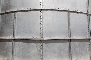 metal wall closeup