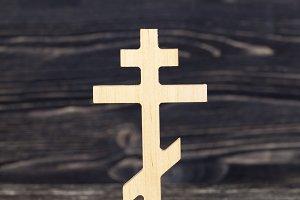 simple Orthodox cross