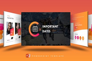 Important Dates -Powerpoint Template