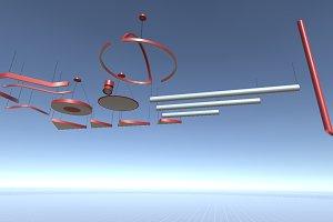 Sci-Fi Lamps Set 2