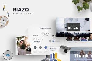 Riazo - Keynote Template