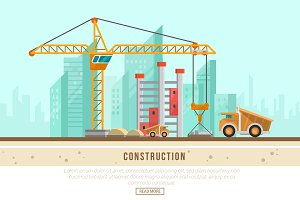 Construction - Vector Landscape