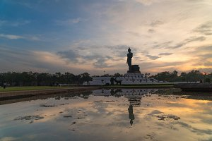 Big Buddha in the park