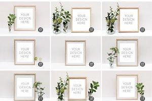 Mockup Bundle | 8x10 Mockup Frames