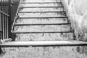 Ancient Stairs Background