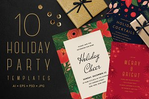 HOLIDAY PARTY TEMPLATES