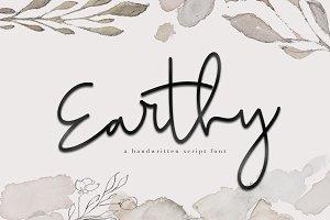 Earthy - A Handwritten Script Font