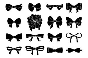 Set of decorative bow for your