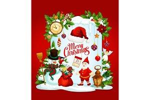 Santa and New Year gifts
