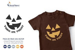 Trick or Treat SVG Vector