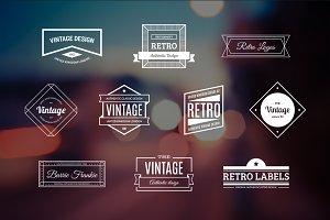 10 Retro Logos Vol. 11