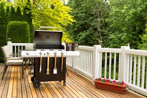 Clean BBQ cooker and cookware