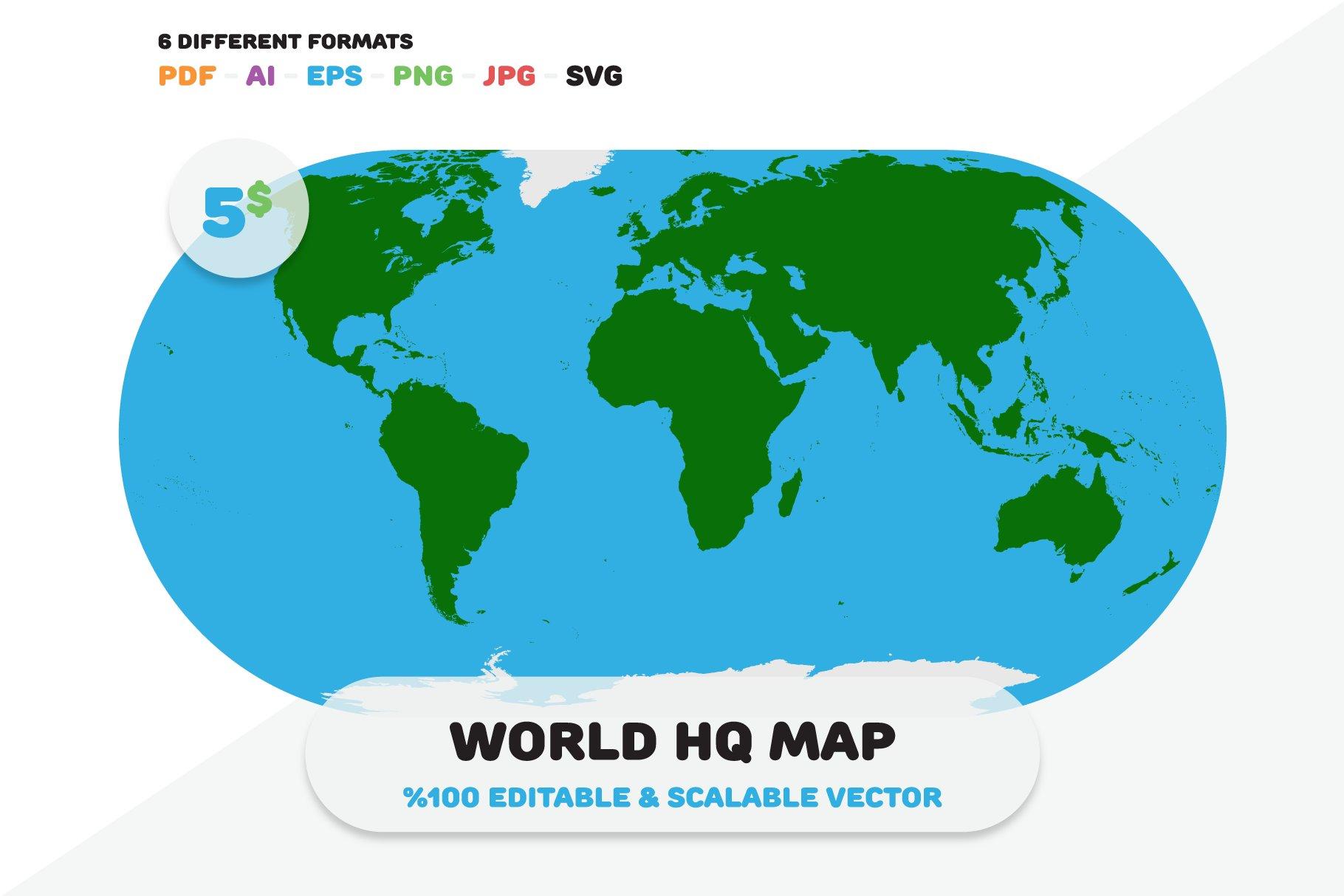 World hq map web elements creative market gumiabroncs Gallery