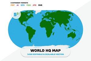 World HQ Map