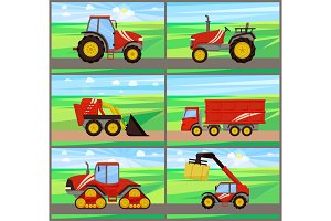Loader and Tractor Agriculture