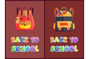 Back to School Posters with