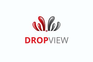 Drop View Logo