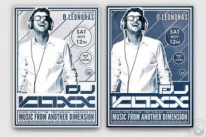 DJ Guest Flyer Template V4