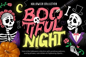 Boo-tiful Night Halloween Collection
