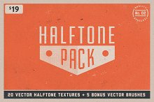 Halftone Texture Pack No. 02