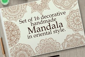 Mandala big set