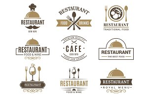 Vintage logotypes and various