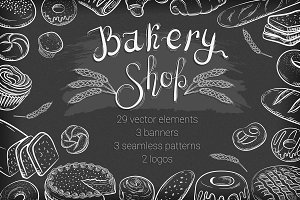 Bakery Shop B&W