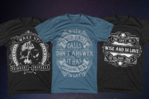 3 Inspirational T-shirt Designs