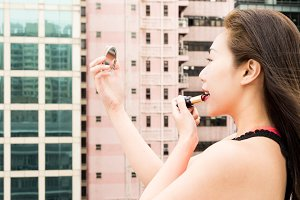 Making-up on a Rooftop