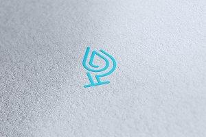 P Water Logo